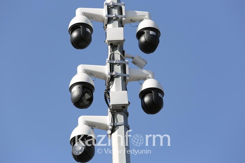Благодаря умным видеокамерам на дорогах Астаны стало меньше нарушений