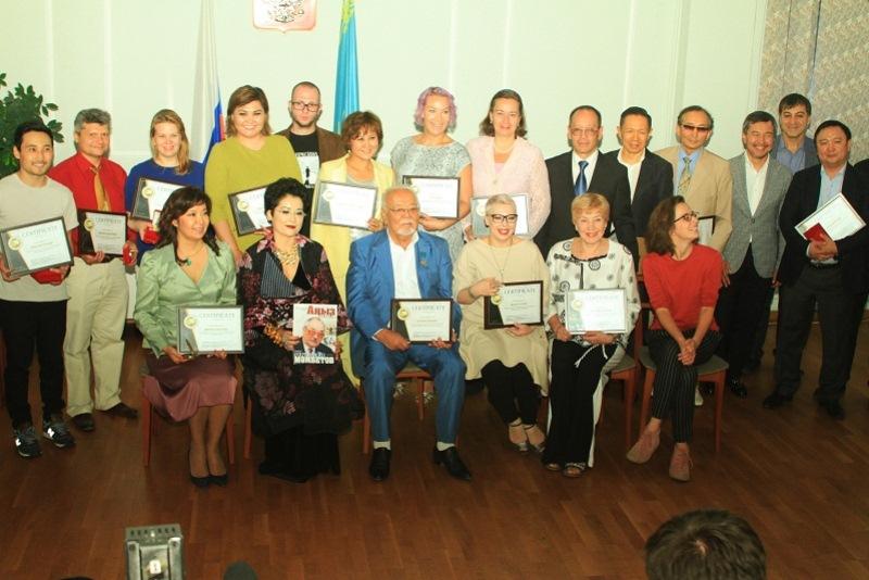 Казахстанские деятели культуры получили Евразийскую премию