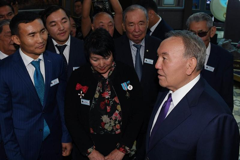 Nursultan Nazarbayev visits Batyr Babalar memorial in Almaty region