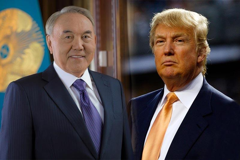 Information Minister comments on Nazarbayev-Trump telephone conversation