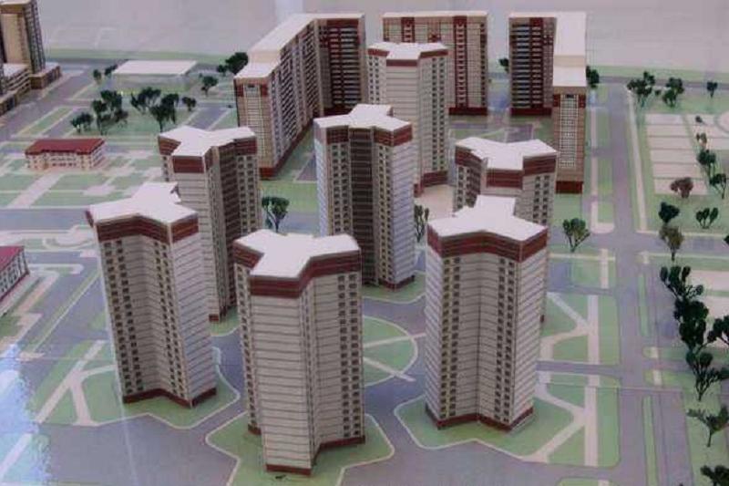 «Трилистник» из семи 24-этажных домов построят в Караганде