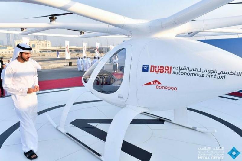 Первое в мире беспилотное авиатакси тестируют в Дубае