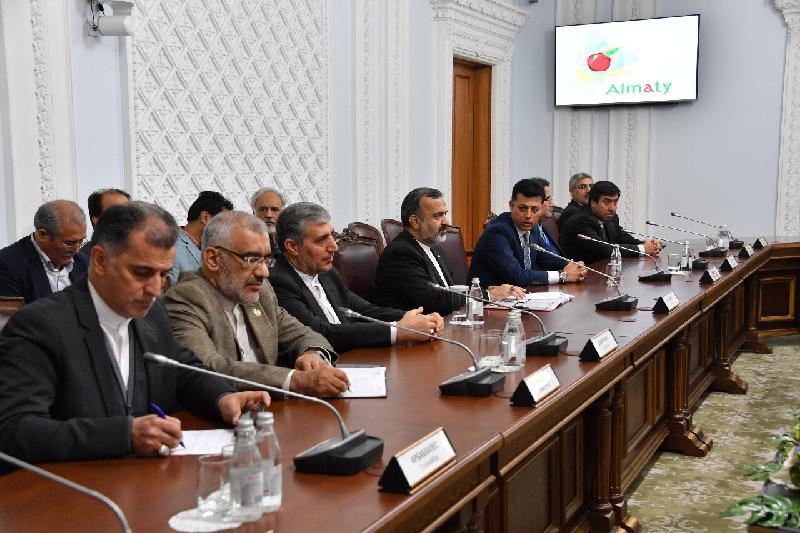 Алматы әкімі Иран провинциясының губернаторымен кездесті
