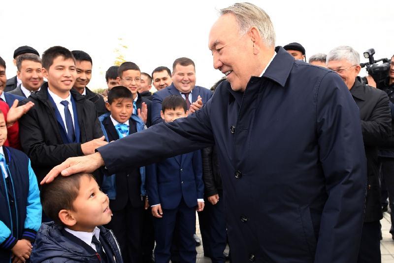 总统视察克孜勒奥尔达多项设施