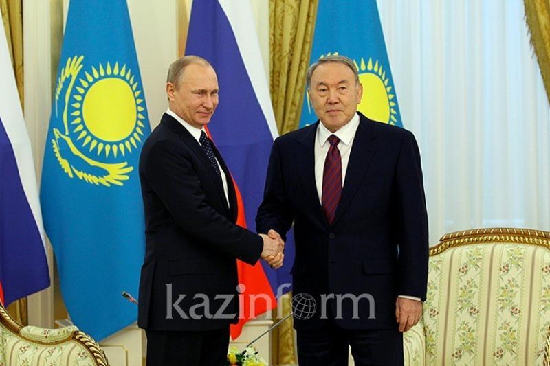 Нурсултан Назарбаев и Владимир Путин встретятся в Сочи