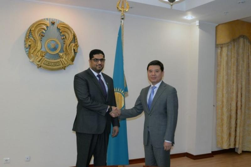 UAE Ambassador, Kazakh Minister of Justice discuss cooperation