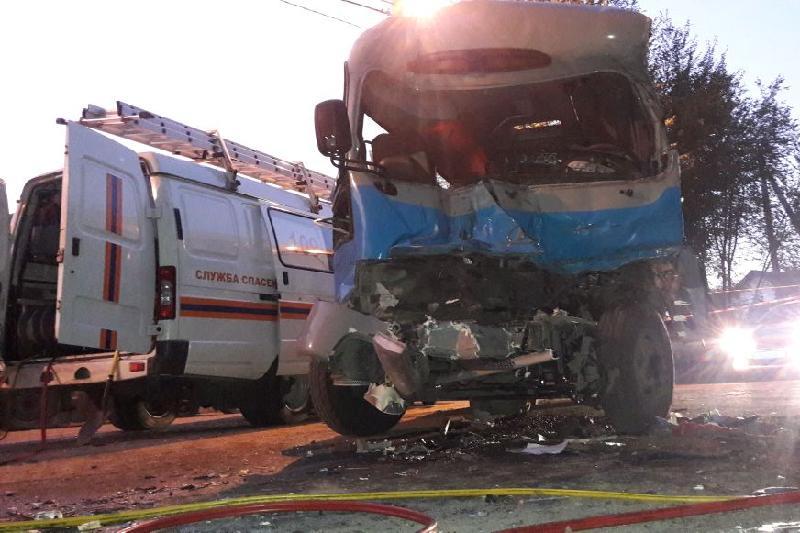 Қаза болған автобус жүргізушісі жол ережесін өрескел бұзған