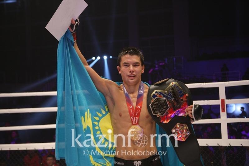 Всемирная ассоциация MMA отметила достижения казахстанского спортсмена