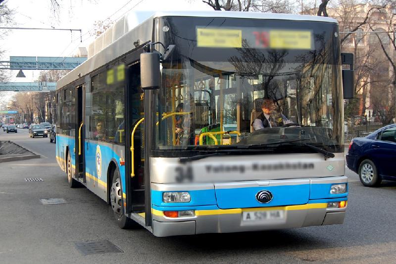Еще одна алматинка пострадала в результате ДТП с автобусом