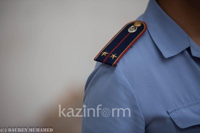 Голый мужчина задержан в городе Кульсары
