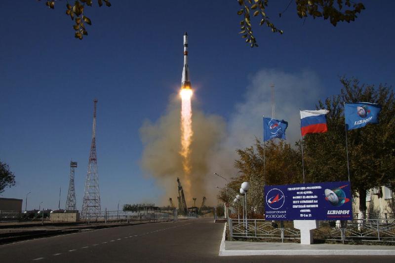 Космический грузовик «Прогресс МС-07» успешно запустили со второго раза