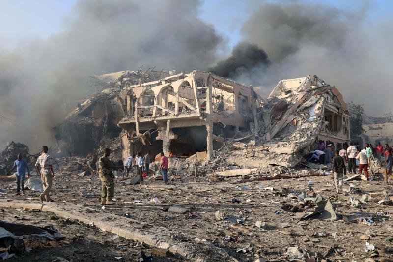Сомали астанасындағы жарылыстың құрбандары 80 адамнан асып кетті