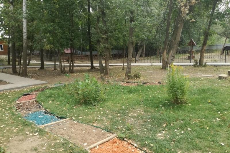 Школьники Уральска построили «Тропу здоровья» для горожан