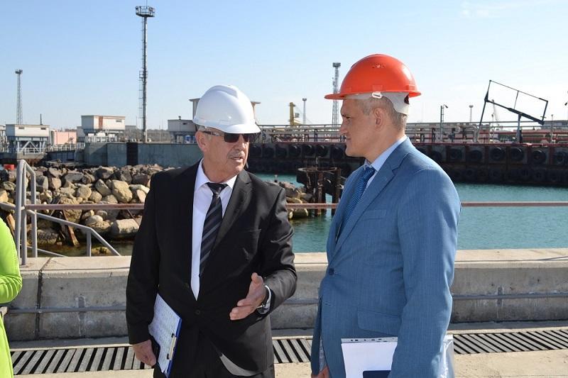 Украина заинтересована в интеграции транспортных маршрутов через порт Актау