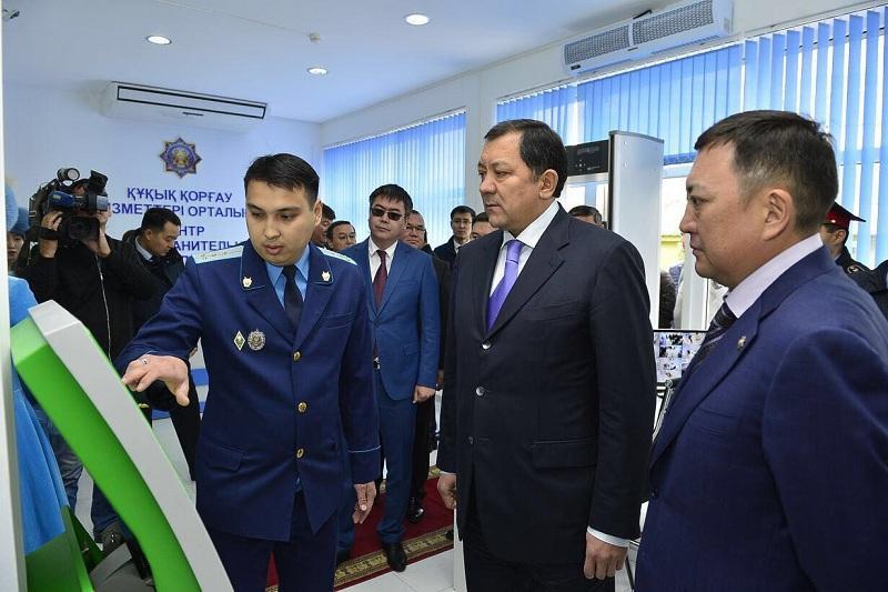 Центр правоохранительных услуг открыли в Атырау