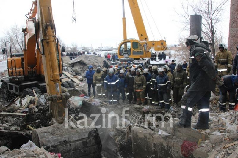 После взрыва и гибели 9 человек в Шахане завершается вынос котлов