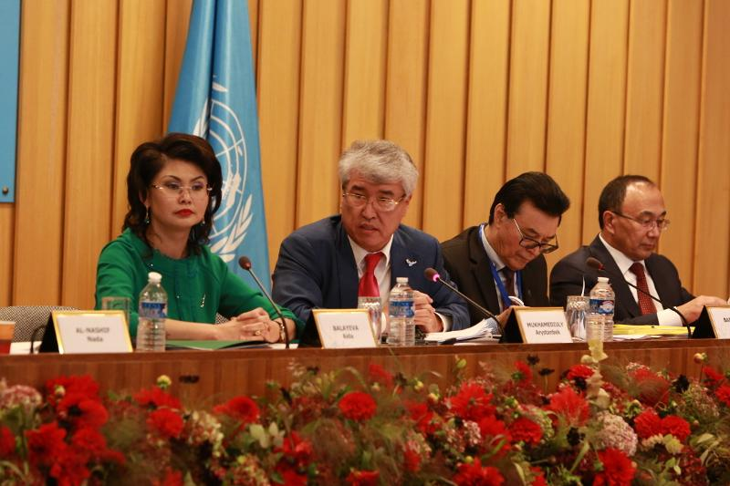 President Nazarbayev's program on spiritual revival presented at UNESCO headquarters