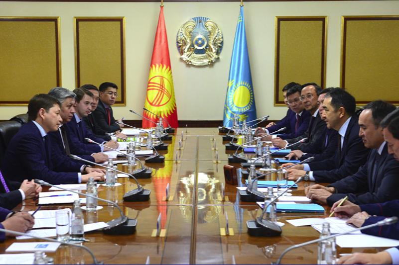 Қырғызстан үкіметінің ресми делегациясымен келіссөздер аяқталды