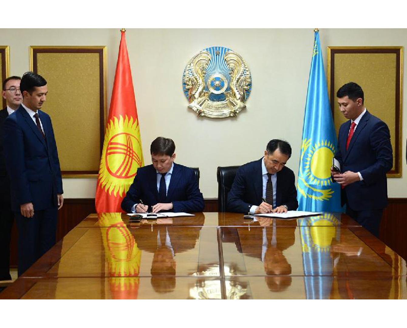 Сағынтаев Қырғызстан делегациясымен келіссөздерден соң мәлімдеме жасады