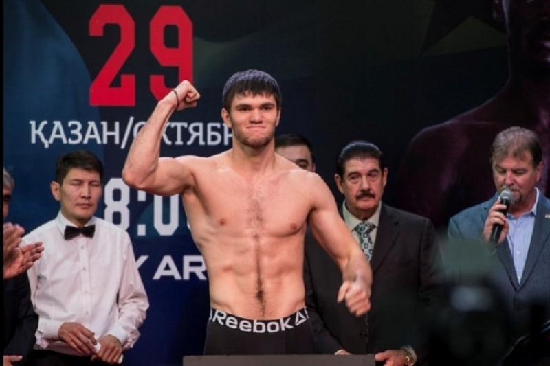 Kazakh boxer Ali Akhmedov to hold title fight in December