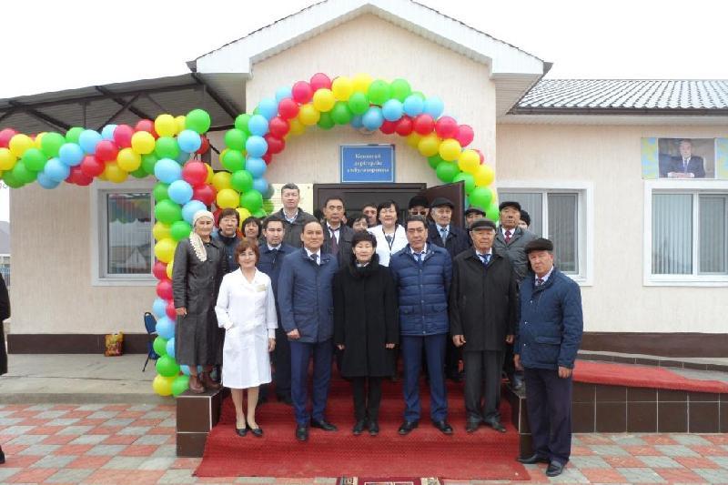 Врачебную амбулаторию получили сельчане в Атырауской области