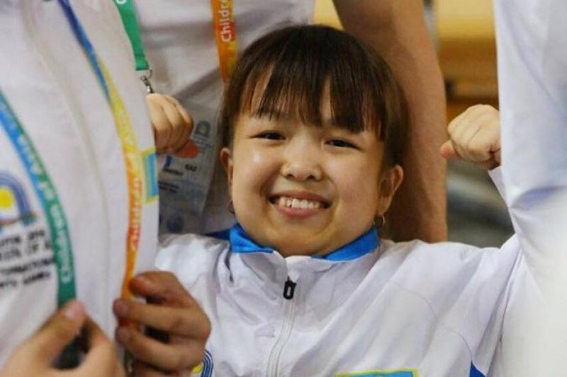 Казахстанская «Дюймовочка»: Цель стать чемпионкой Паралимпиады