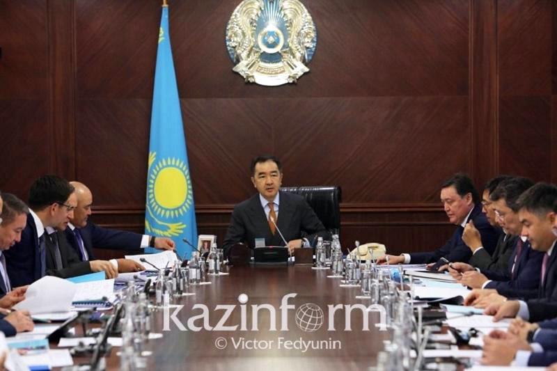 Премьер РК призвал к жесткому контролю реализации программы «Нұрлы жол»