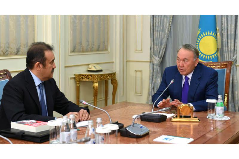 Nursultan Nazarbayev receives Head of National Security Committee