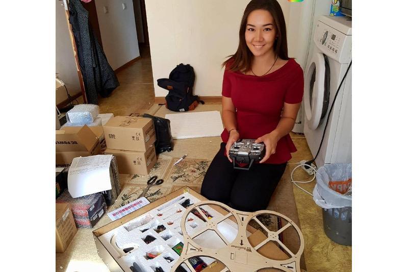 Шымкентских детей научат собирать роботов и квадрокоптеры
