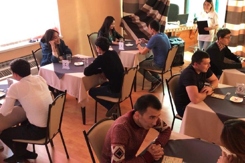 Клуб для одиноких сердец открыли в Шымкенте