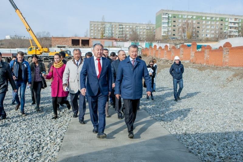 Бизнесмены Восточно-Казахстанской области строят социально-значимые объекты