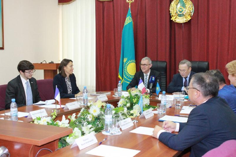 French Ambassador visits Kostanay region