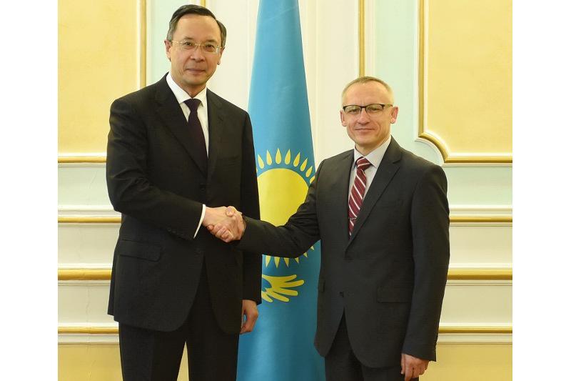 Kazakh FM, UN Undersecretary talk over fight against drug trafficking