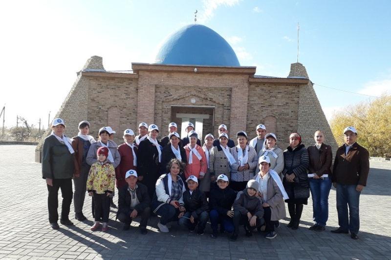 Комплекс «Коркыт Ата»посетят участники экспедиции «Ұлы Дала елі»