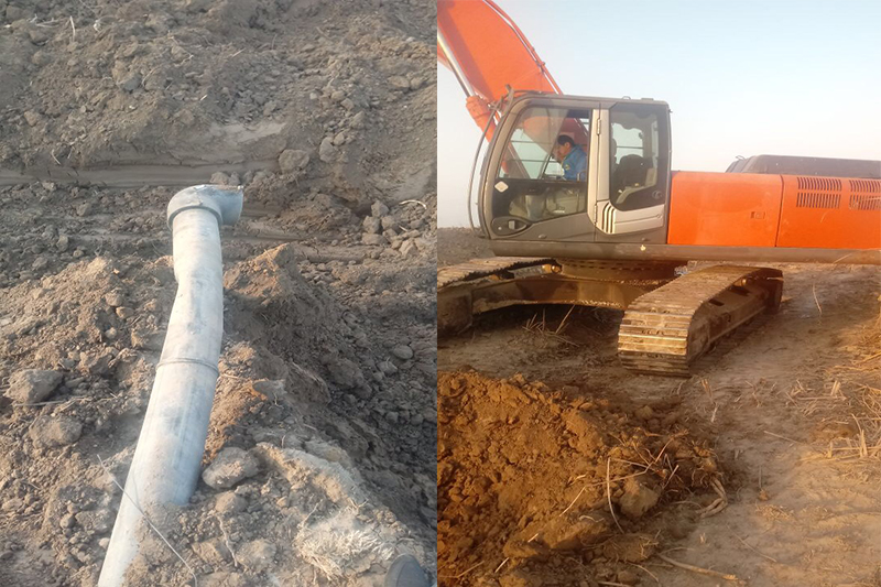 Три жилых поселка в ЮКО остались без газа из-за аварии на газопроводе