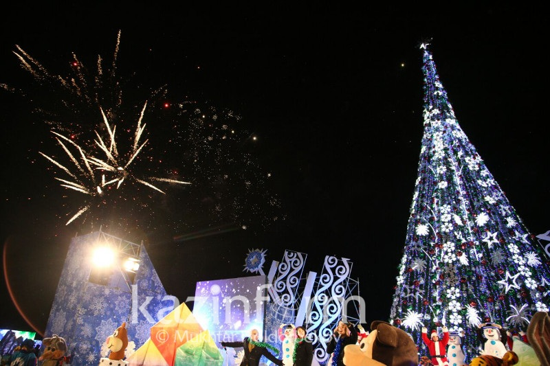 New Year's Tree to be lit up at EXPO site