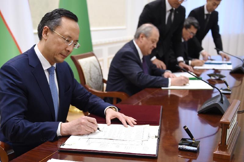 Казахстан, Туркменистан и Узбекистан подписали договор о точке стыка границ