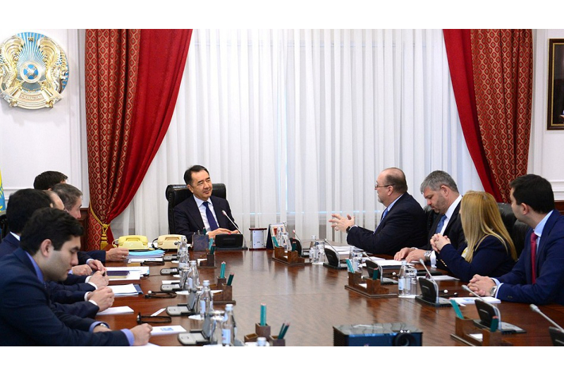 PM Sagintayev, GE Digital CEO discuss cooperation