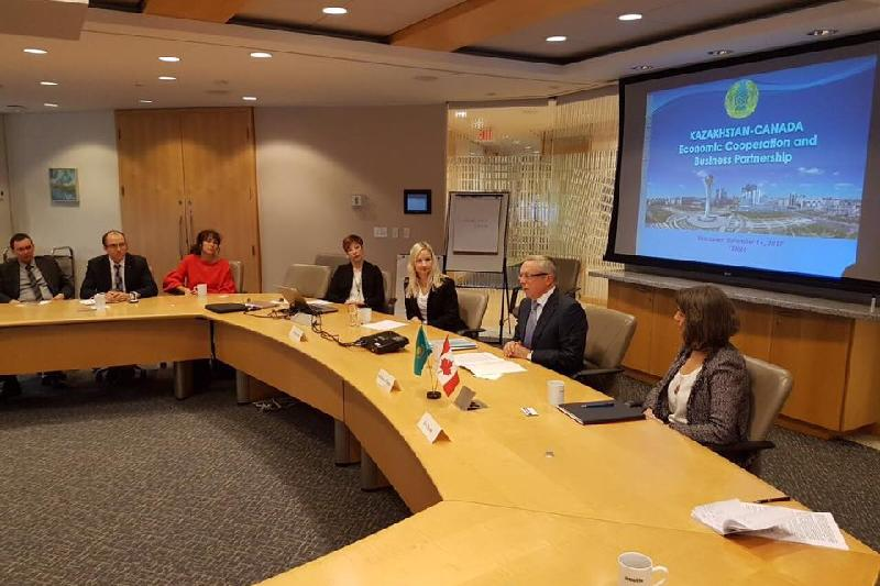 Kazakhstan's business and investment opportunities presented in Vancouver