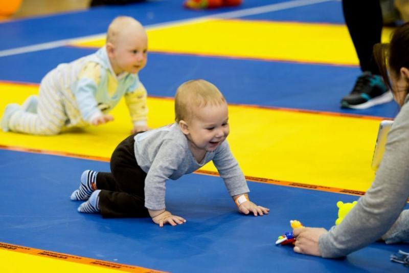 Чемпионат по ползанию малышей пройдет в Павлодаре