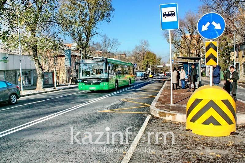 Алматылықтар BRT жүрдек автобустарын тестілей бастады
