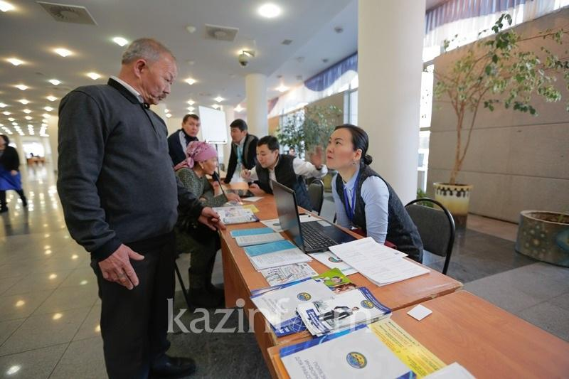 В Шымкенте прошла ярмарка вакансий для состоящих на учете службы пробации