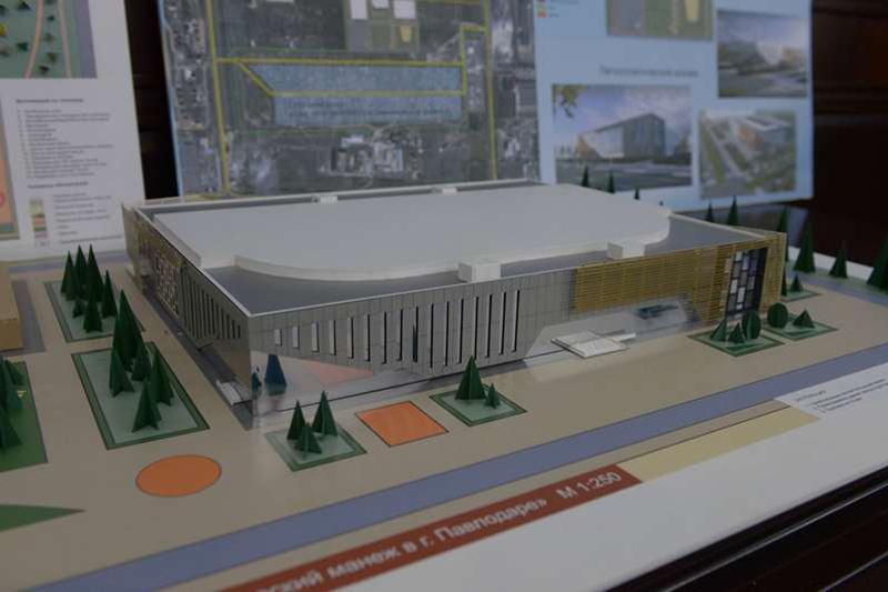 Спортивный городок построят в Павлодаре