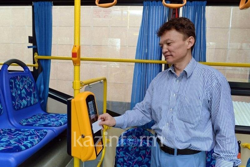 Электронная оплата проезда в Астане полноценно заработает  с нового года