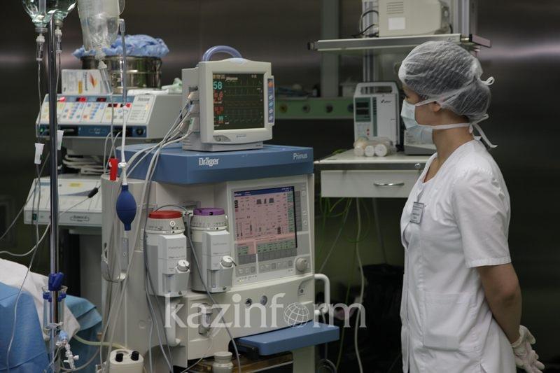 Дорогостоящие аппараты подарили перинатальным центрам Алматы и Астаны