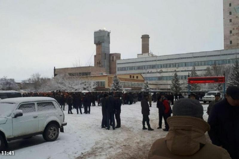 Рабочие «Казахмыса» прекратили акцию протеста