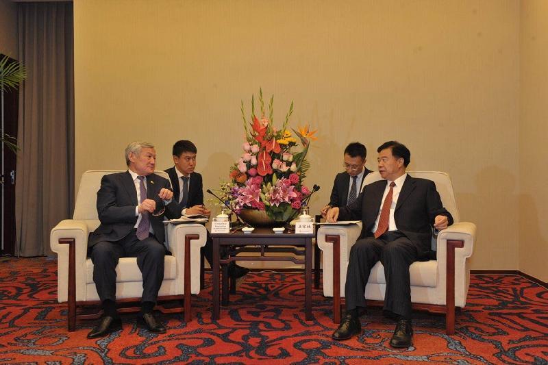 Сапарбаев CNPC компаниясына индустриялды жобаларға бөлінетін инвестицияны арттыруды ұсынды