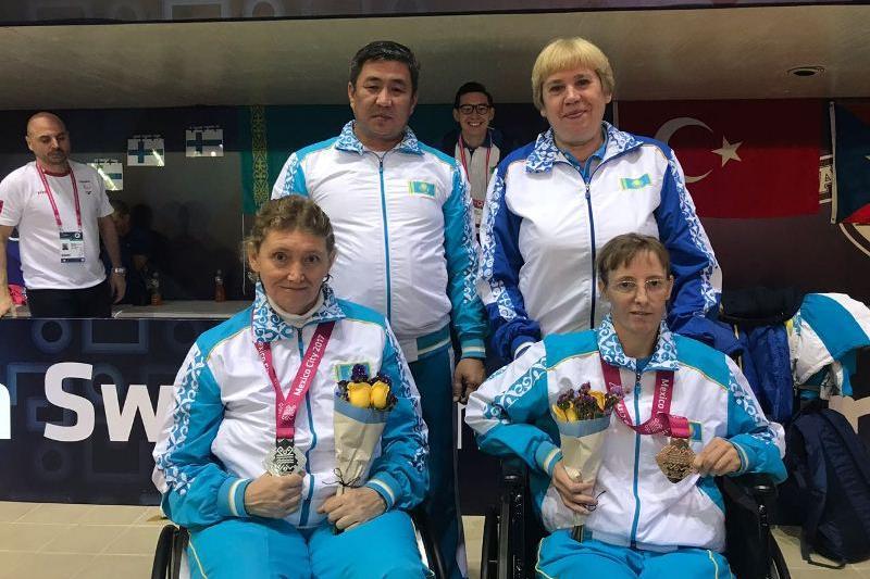 Казахстанка стала чемпионкой мира по паралимпийскому плаванию