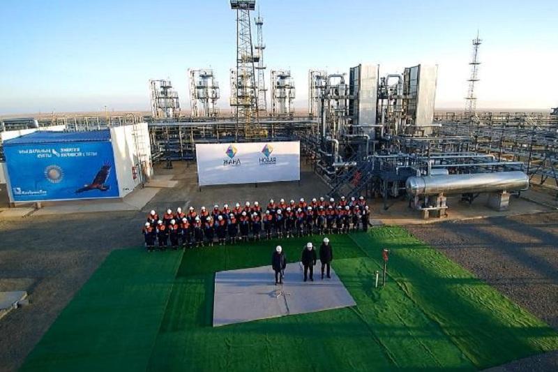Установку осушки газа запустили в Актюбинской области