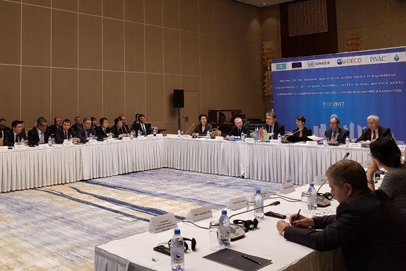 Международный центр оценки вод открывается в Казахстане